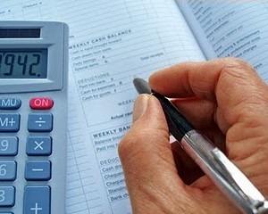exame e cálculos de emolumentos